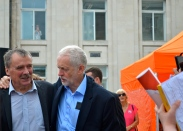 Jeremy Corbyn and Alan Whitehead